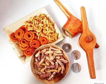 Wooden String Hopper Maker//Extruder Idiyappam Noodle Spaghetti Maker Original