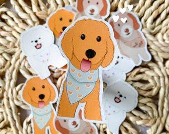 Custom dog stickers