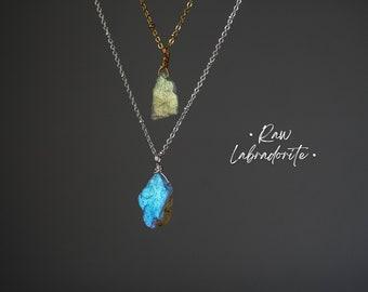 Labradorite pendant necklace 18gr,011B