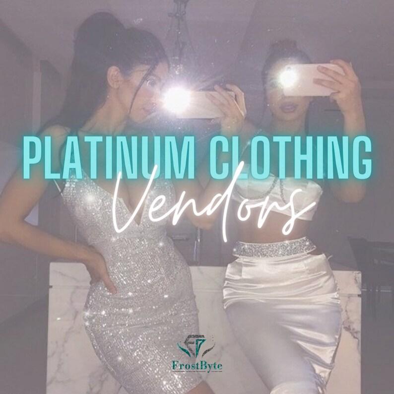 Platinum Package Clothing Vendors