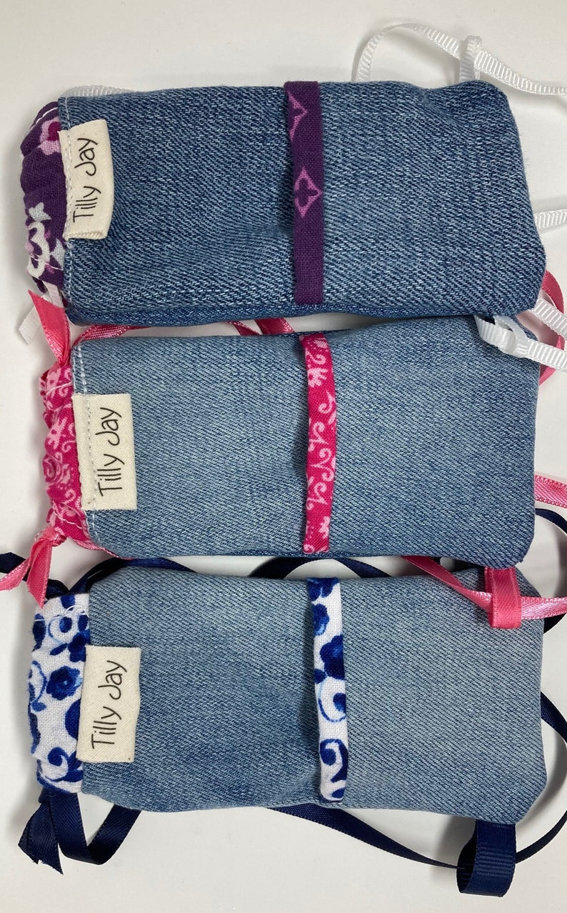 Backpacks for Wellie Wisher or Ruby Red size dolls denim ...