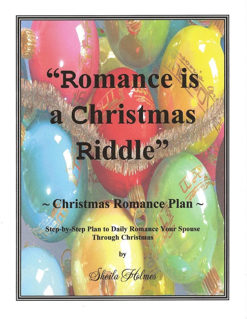 Romance is a Christmas Riddle Romance Plan image 1