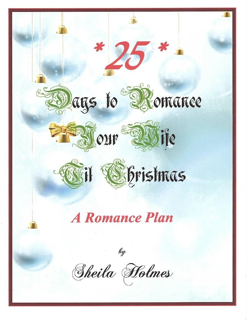 25 Days to Romance Your Wife Til Christmas Romance Plan image 0