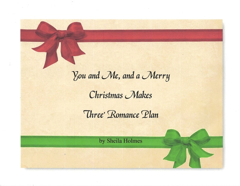 You and Me and a Merry Christmas Makes Three Romance Plan image 0