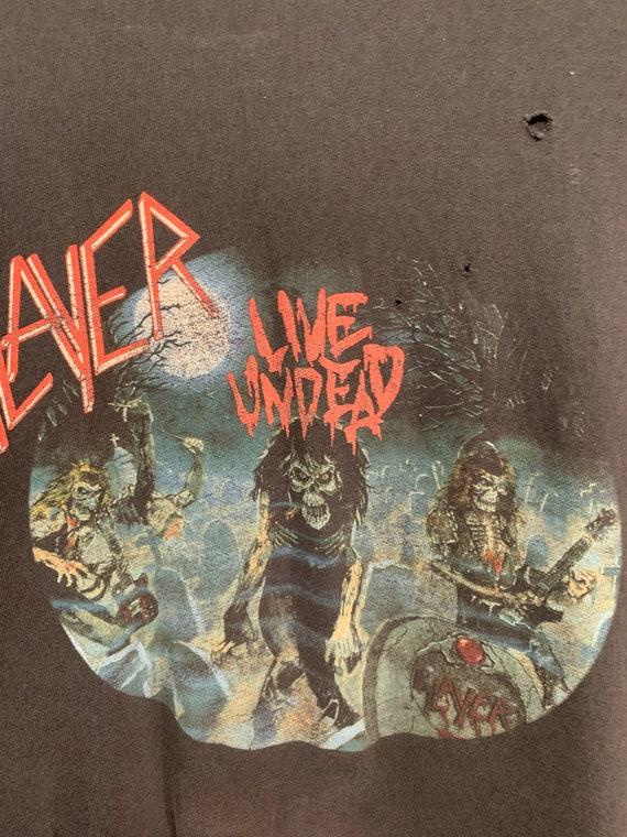 Slayer - Vintage Live Undead shirt