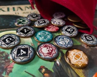 Chaos tokens Arkham Horror LCG Core & Innsmouth