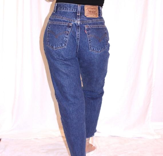 90's Levi's high waisted jeans / Vintage Levi's 5… - image 1