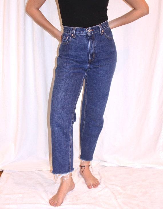 90's Levi's high waisted jeans / Vintage Levi's 5… - image 2
