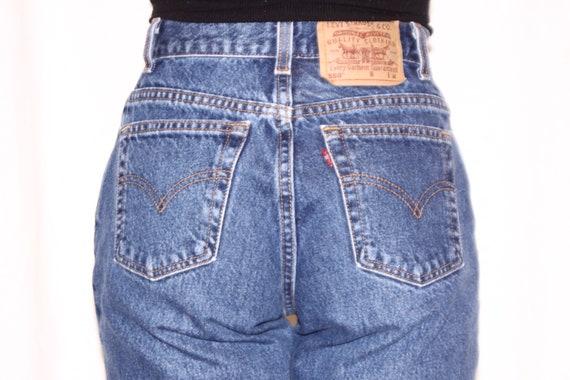 90's Levi's high waisted jeans / Vintage Levi's 5… - image 4