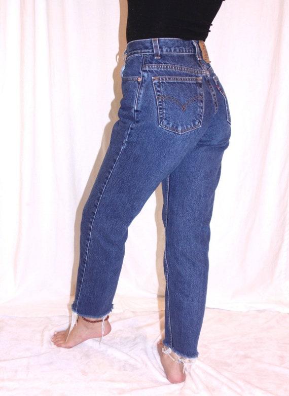 90's Levi's high waisted jeans / Vintage Levi's 5… - image 3