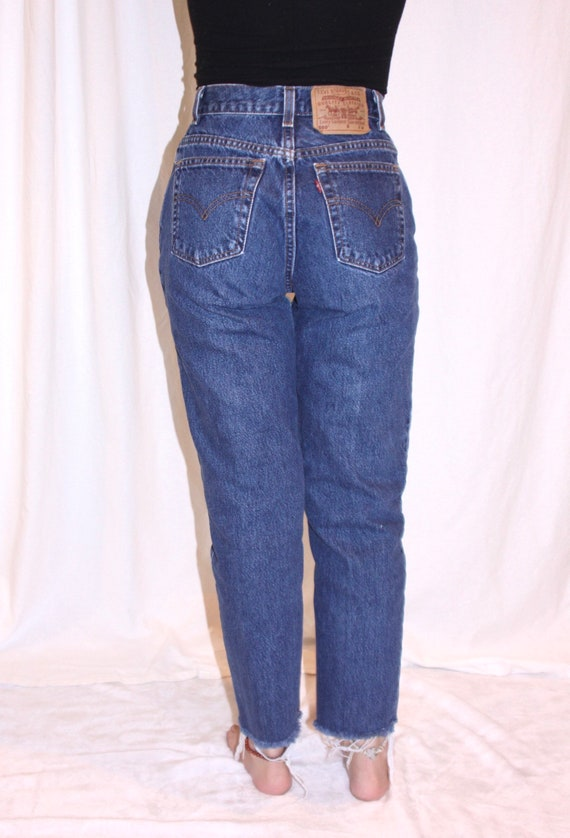 90's Levi's high waisted jeans / Vintage Levi's 5… - image 5