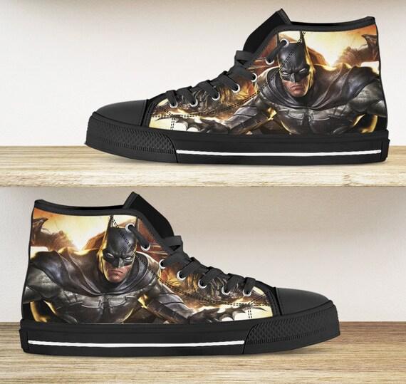 Batman shoes. Batman high tops kid's