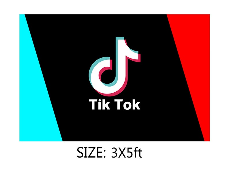 Tik Tok Party Backdrop Decorations.TIK Tok Party Decorations for Boys and Girls,TIK Tok Yard Sign Birthday Party