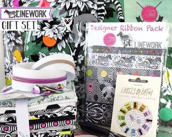 Tula Pink Lemur Me Alone Medium Gift Set, Perfect for any level sewist!