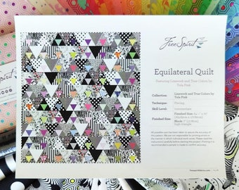 Tula Pink Equilateral Quilt Kit