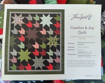 Tula Pink's Comfort and Joy Quilt Kit