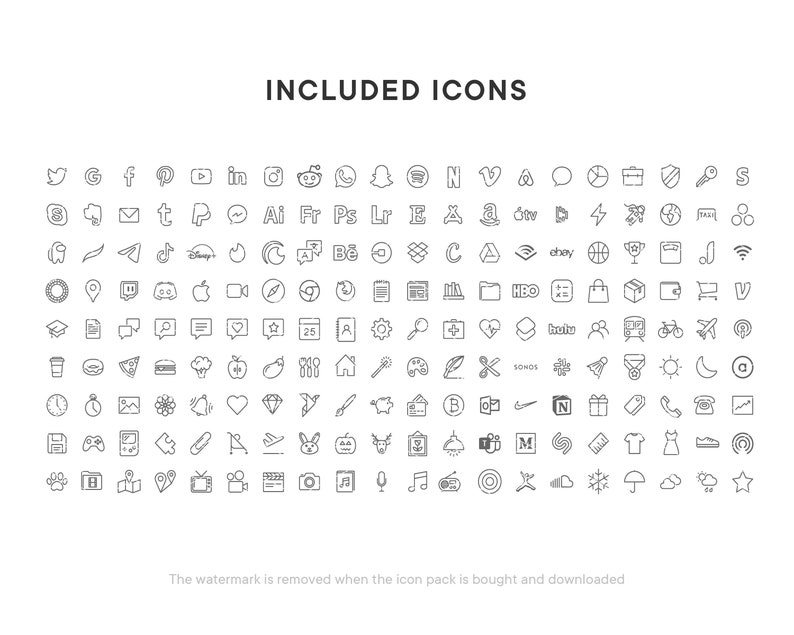 Instant download Silver iOS 14 icons Custom icons Gradient Silver Colors iPhone and iPad app icons Aesthetic iOS 14 icons Cold Tones