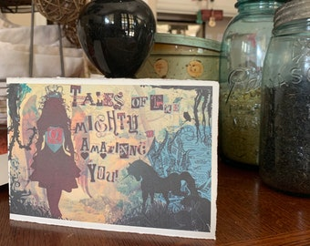 Blank Cards, Girl Power Art & Gifts, Amazing You Tales