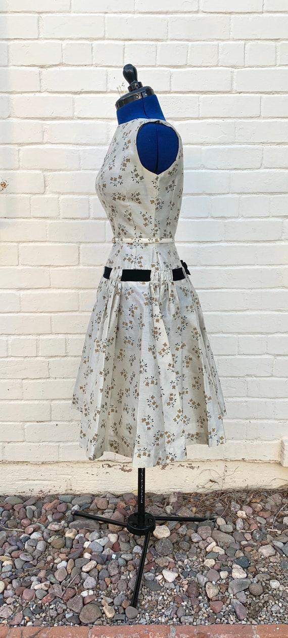 1950s Natlynn Dropped Waist dress - image 4