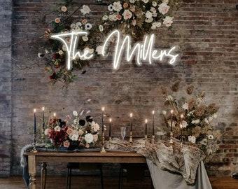 Custom Wedding Neon Sign. LED custom – Decor for wedding, Wall decor, Bride party