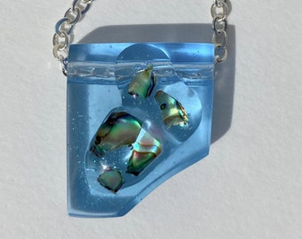 Quantity 9- 23mm X 10mm with 1.5mm Hole at Top- Blue Beachy Sandal FLIP FLOP Charm Pendant with clear CZ Stone--Zorrie size