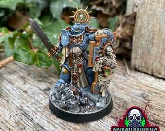 Primaris Captain (Indomitus) -  Commission Painted