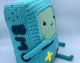 Crochet Pattern BMO Adventure Time plushy