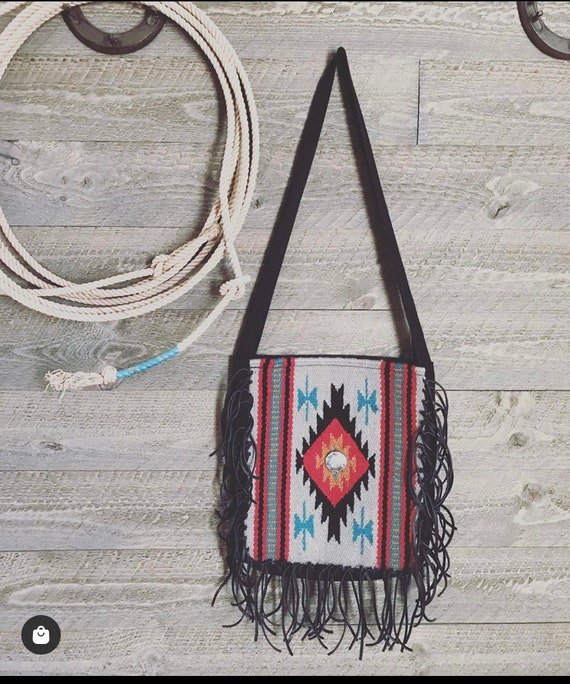 Southwestern Saddleblanket Style purse