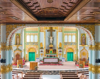 Christ the King Cathedral in Loikaw | Myanmar | Burma |
