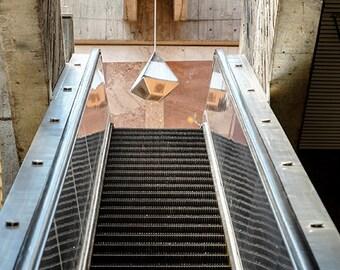 BART Stations are architectural gems, Glen Park Station, San Francisco, California