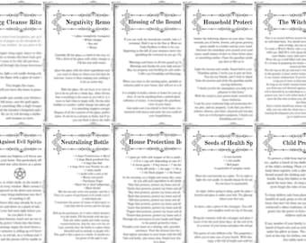 Egg Cleanse & 13 Protection Spells Against Evil Spirits in PDF