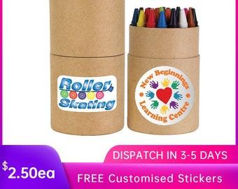 Bulk Personalised 30 Non Toxic Crayons,Kids fun stuff, birthday party, kids crafts, scrapbooking, school supplies, crayons sets
