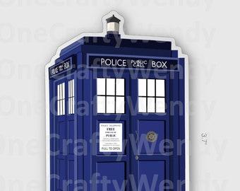 TARDIS Accent LampNight Light