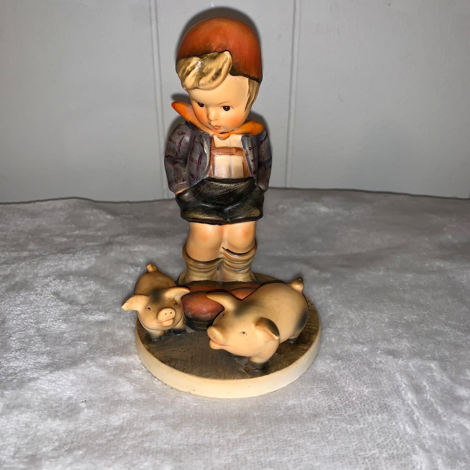 """Hummel """"Farm Boy"""" #66 Figurine"""