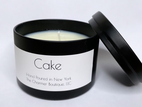 Cake Scented Hand Poured Soy Wax Candle