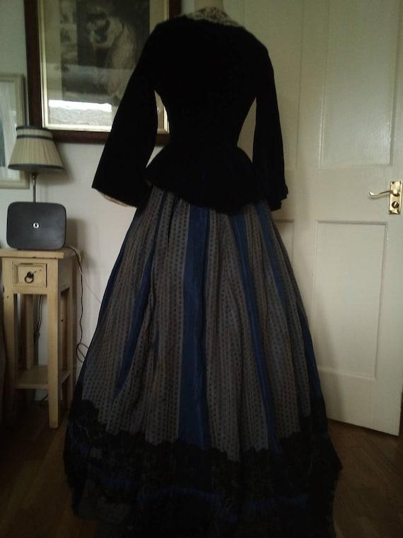 Original Victorian Two Piece Day Dress