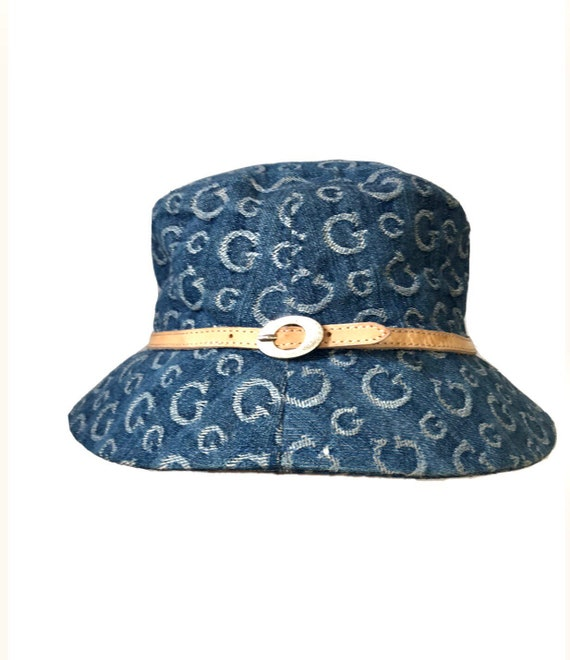 Guess denim bucket hat