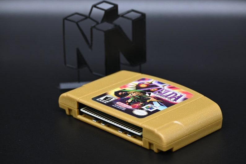 Amazing Zelda Inspired Custom N64 Available on Etsy