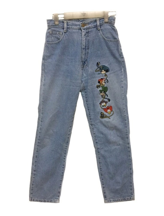 Vintage Gems Hollywood Mickey Disney Embroidery Je