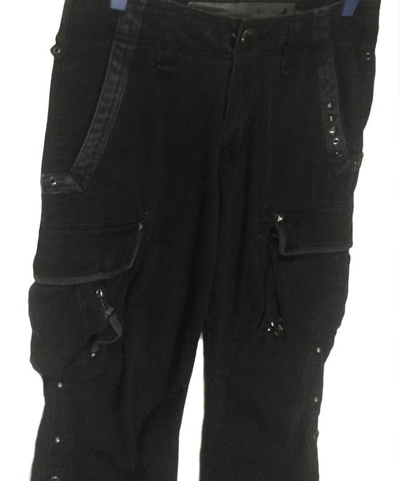 TBJ Jeans co  multi pocket  drawstring cargo pants
