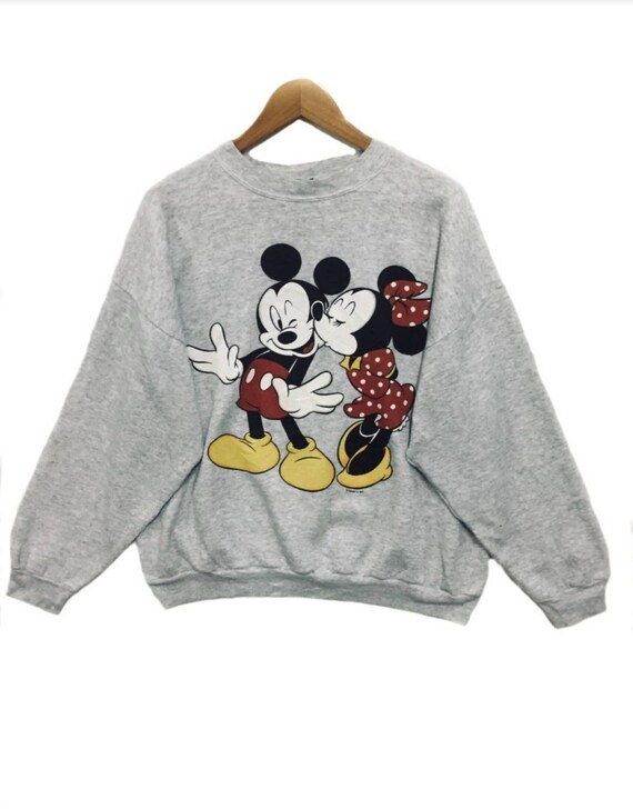 Vintage Mickey Unlimited Disney Sweatshirts Tultex