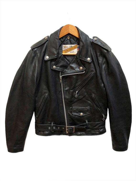 Vintage Schott Perfecto Motorcycle Leather Craft J