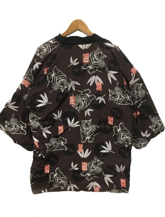 Kimono Full print tiger Reversible Cloaks capes