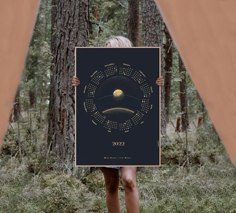 NEW Moon Calendar 2022 image 1