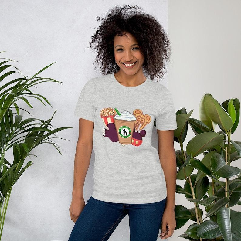 Magic Coffee with Snacks Women\u2019s Shirt