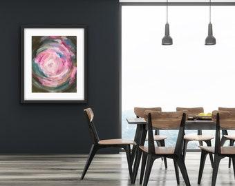Abstract Art Prints - 'Light Burst' - Multiple sizes available