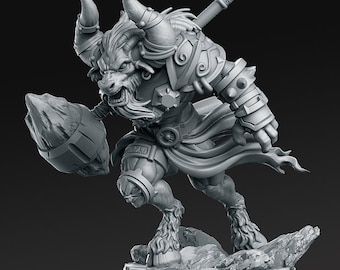 Pathfinder Minotaur Lord Dohnul for Dungeons and Dragons