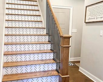 Stair Wallpaper Etsy