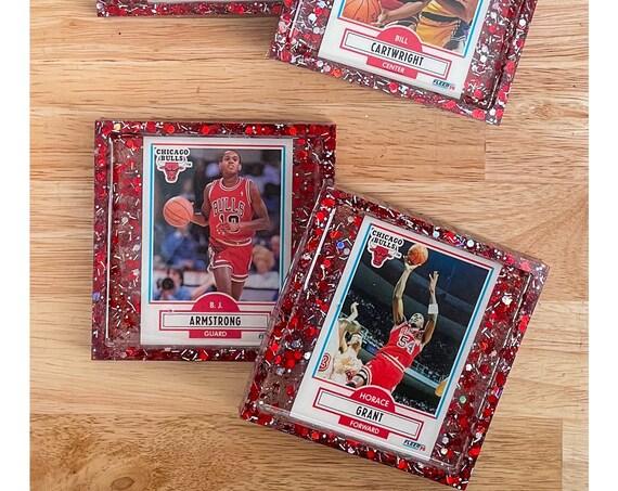 Chicago Bulls - 4 Coasters