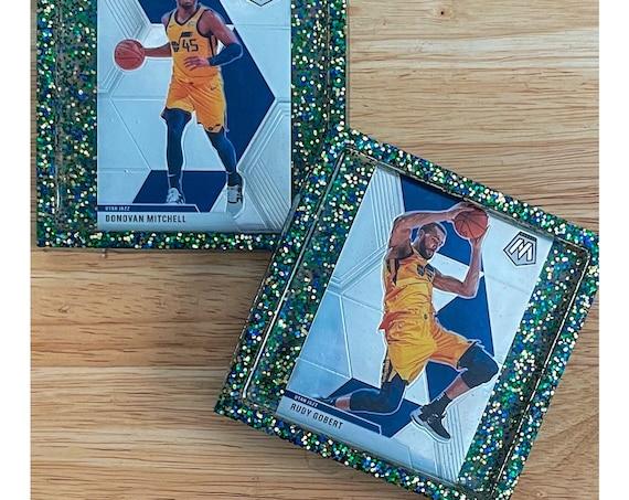 Donovan Mitchell & Rudy Gobert Utah Jazz Coasters